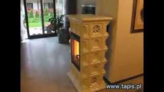 TAPIS.PL - Akumulacyjny piec kominkowy STOGER CERAMIC - HANNOVER - TAPIS