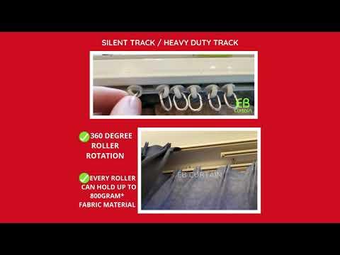 EB CURTAIN SILENT TRACK /HEAVY DUTY TRACK