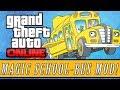 "GTA 5: Online   New ""Magic School Bus"" Mod - Fly Above & Underwater! (GTA 5 MODS)"