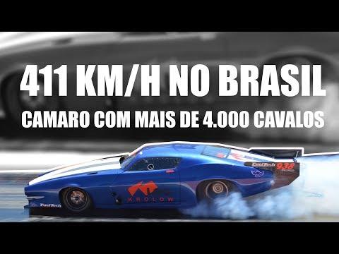 CAMARO A 411KM/H NO BRASIL