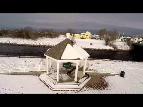 Drone Video - Truro Nova Scotia In the Winter