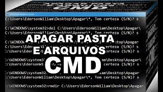 Veja Como Apagar Pasta e Arquivos Pelo Prompt de Comando CMD No Windows 10