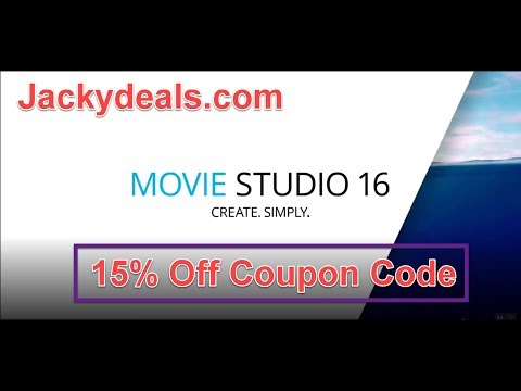 VEGAS Movie Studio 16 Overview and 15% Off Coupon Code