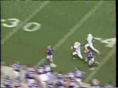 P. Manning completes 88 yard TD pass to T. George