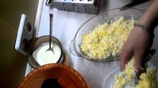 Жирозжигающий салат из отварной свеклы. (Ironicaly salad of boiled beet)