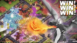 More Dragons = More Wins! Clash of Clans 10 Dragon 8 Balloon Attack Strategy!