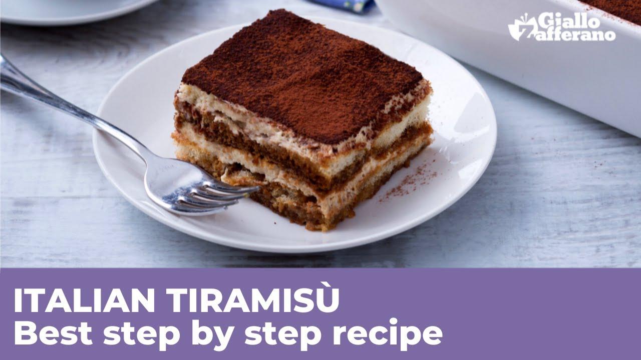 Ricetta Tiramisu In Inglese.Tiramisu Mascarpone Cheese And Ladyfingers Dessert Italian Recipes By Giallozafferano