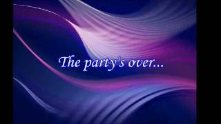 The Party's Over (Hopelessly In Love) _ JOURNEY