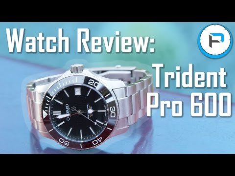 Christopher Ward Trident Pro 600 Review