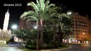 Alicante, plaza luceros, достопримечательности Аликанте, Сергей Езовский(http://www.spaintur.tv Наше Агентство Недвижимости