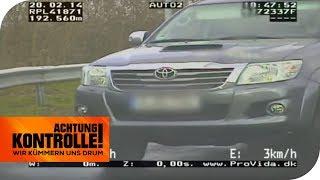 Bleifuß auf der Autobahn: Pick-up viel zu schnell! | Achtung Kontrolle | kabel eins