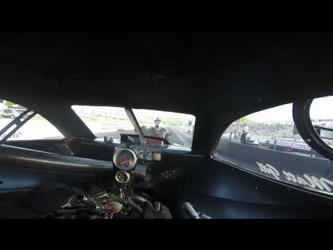 Matt Gill in Moduline car at Maplegrove