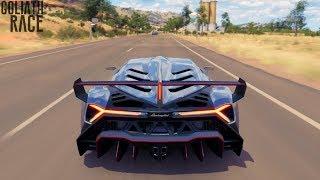 Forza Horizon 3 Lamborghini Veneno Goliath Race Gameplay