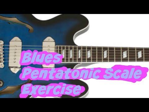 Blues Pentatonic Scale Exercises Every Guitarist Should Know! (Bonus PDF Chart)