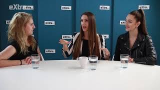 Na rozhovor dorazila čerstvá Miss Czech Republic Denisa Spergerová a ředitelka Taťána Makarenko.