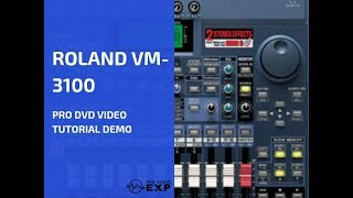 Roland VM-3100 Pro DVD Video Tutorial Demo Review Help