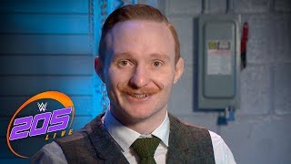 Gentleman Jack Gallagher reveals his plans for Hideo Itami: WWE 205 Live, Jan. 16, 2018