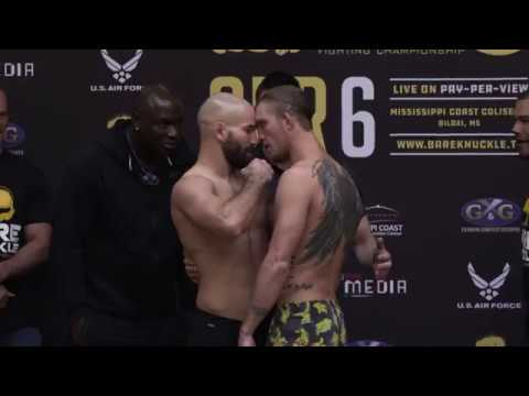 BKFC 5: Artem Lobov vs. Jason Knight weigh in face off