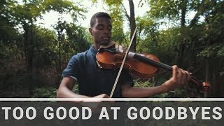 Sam Smith | Too Good At Goodbyes | Jeremy Green | Viola Cover