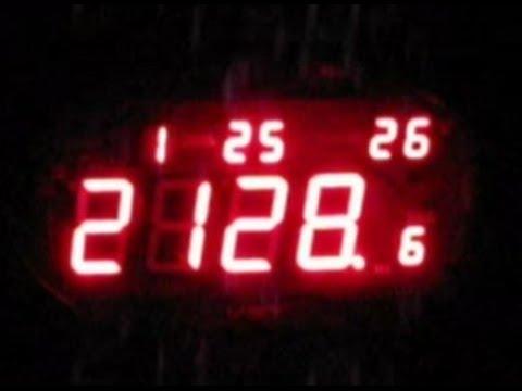 VST 805-S-4 - обзор часов электронных - YouTube