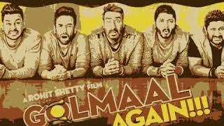 maine tujhko dekha golmaal again mp3 songs