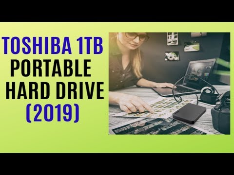 Best External Hard Drive REVIEW (2019) / Toshiba HDTB410