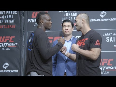 Fight Night Japan: Media Day Face Offs