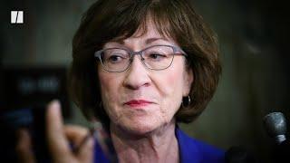 Susan Collins Defends SCOTUS Abortion Dissent