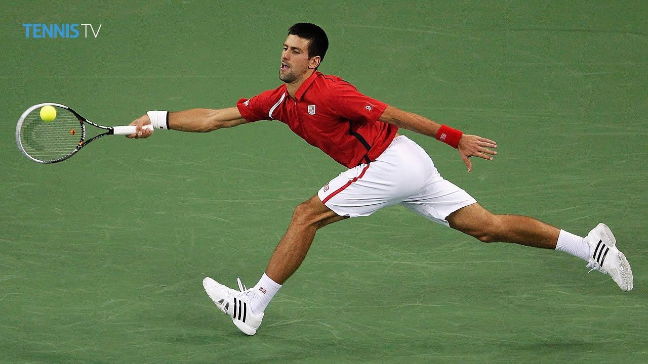Andy Murray v Novak Djokovic amazing point - 2012 Shanghai Rolex Masters  Final