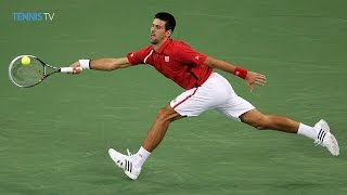 Andy Murray v Novak Djokovic amazing point - 2012 Shanghai Rolex Masters Final