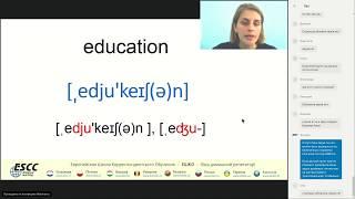 От буквы к звуку «английская транскрипция и фонетика»