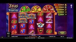 📲 PlayOLG * Online Casino * BIG WIN * Zeus God of Thunder ⚡ Bonus Games