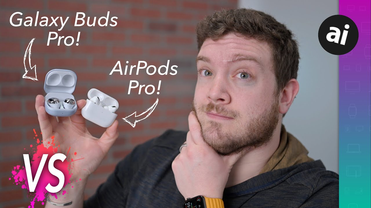 Compared: Galaxy Buds Pro versus AirPods Pro