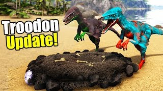 MY BABY!! - Play As Dino Troodon Update Is HERE! - Ark Survival Evolved
