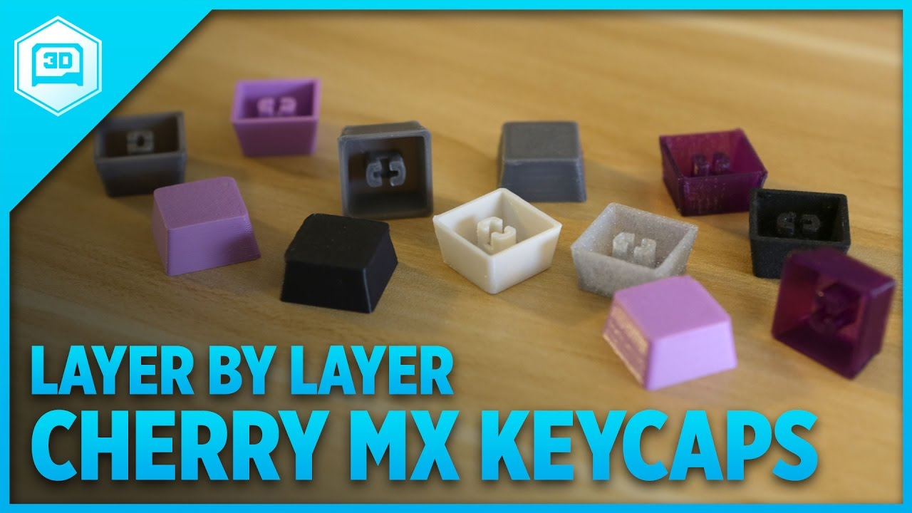 Layer by Layer – Cherry MX Keycaps