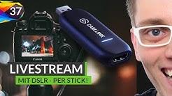 Dieser Stick macht jede Kamera zu einer Webcam 📹 Livestream Technik | Elgato Cam Link | Folge #37