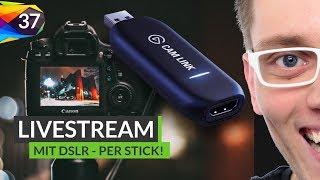 Dieser Stick macht jede Kamera zu einer Webcam
