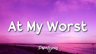 Download Pink Sweat$ - At My Worst (Lyrics) 🎵