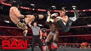 Titus Worldwide vs. Dolph Ziggler & Drew McIntyre: Raw, April 23, 2018