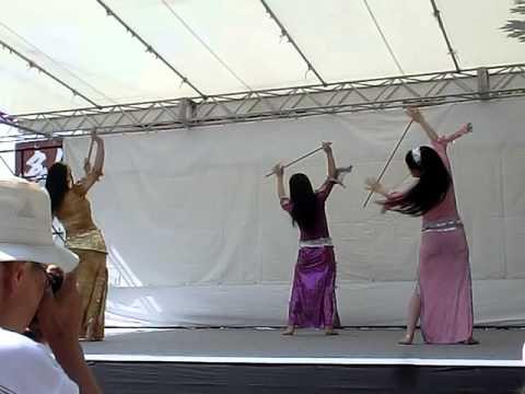 【小江戸川越春まつり2015】ベリーダンス(前半)