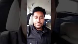 "Harbhajan mann ne ewe dita gurdas mann de punjab song da -- said """"congratz to gurik mann"""""