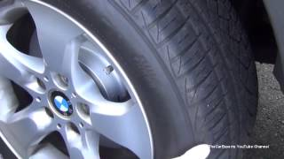 BMW Full Pads and Rotors Replacement Procedure With Torque Specifications E83 X3