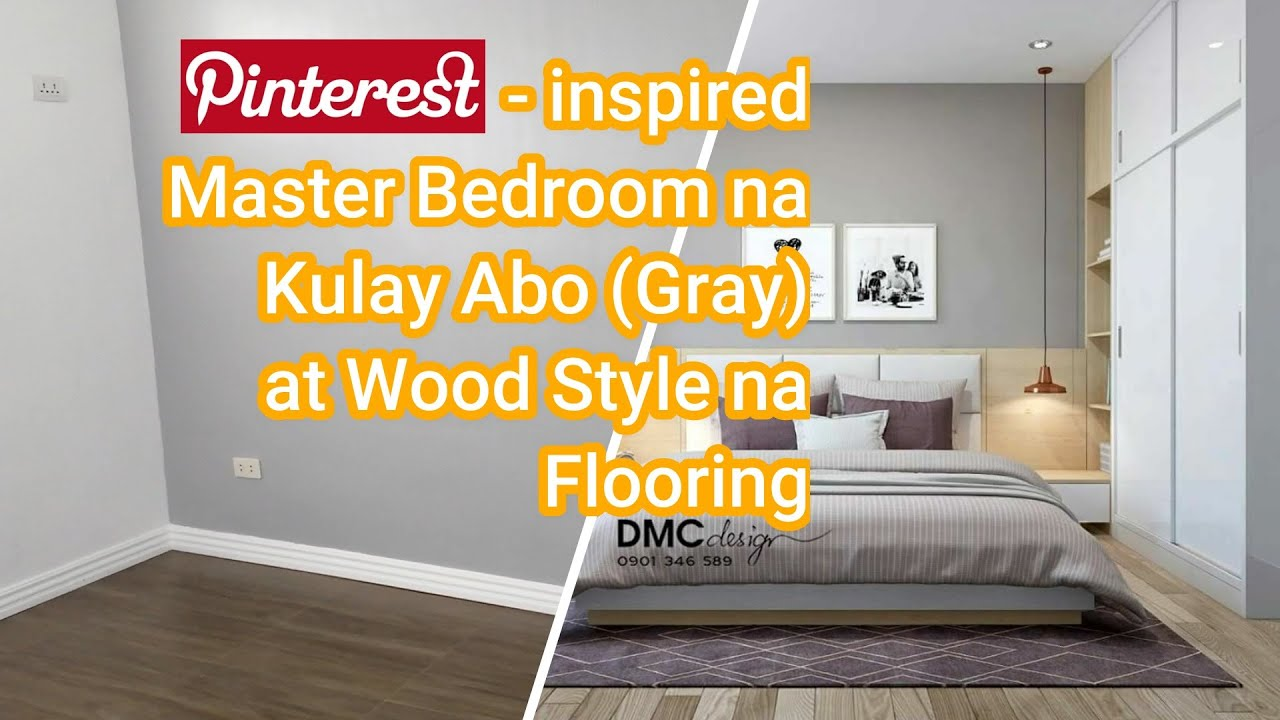 Empty Room Tour Gray Master Bedroom In A Bungalow House Philippines Youtube