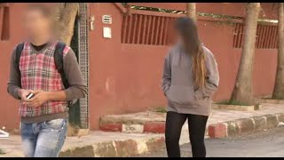 خط أحمر التحرش في الجزائر بفتاة بدون ثم بالحجاب .. للكبار فقط