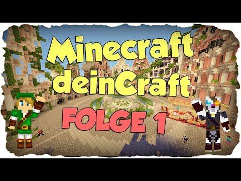 SERVERTOUR! - Minecraft deinCraft #001