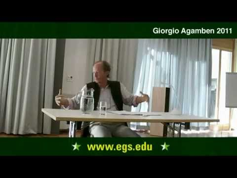 Giorgio Agamben. The Archaeology of Commandment. 2011