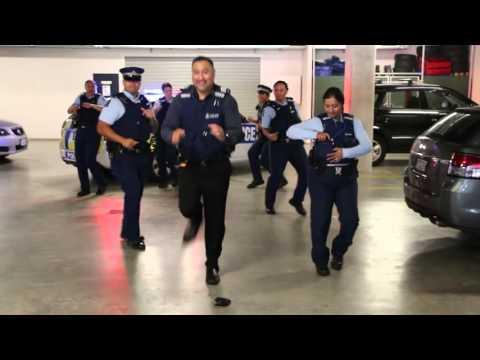 New Zealand Police #runningmanchallenge