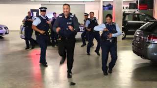 New Zealand police doing the