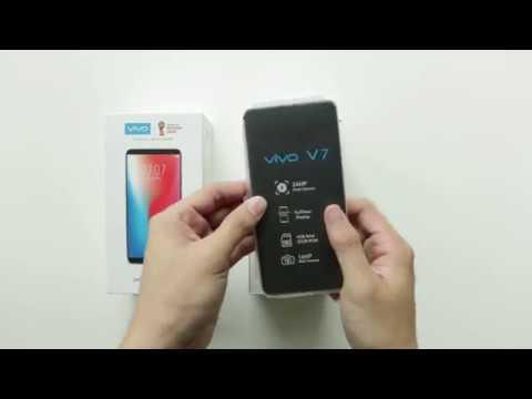 Unboxing The Vivo V7