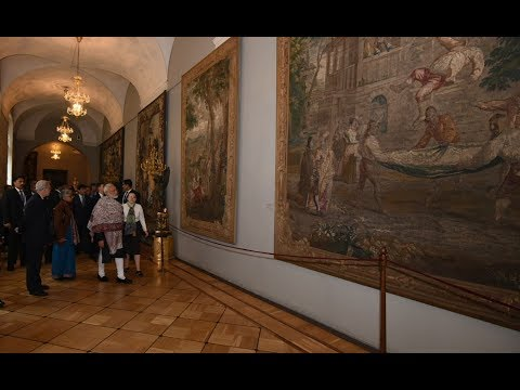 PM Modi's Visit to State Hermitage Museum in Saint Petersburg, Russia